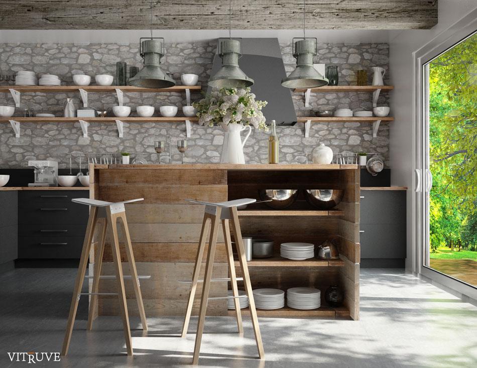 Dc cuisine cuisine perspective vitruve with cuisine - Cuisine en perspective ...